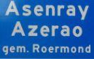 ortsschild asenray - Limburgs Dialekte – eine mehrheitliche Minderheitensprache