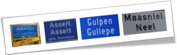 Ortsschilder Limburg