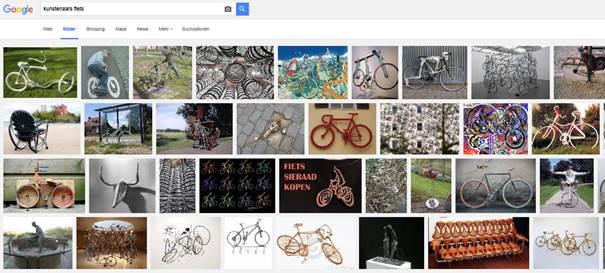 google kunstenaars fiets - Fietsen op zijn creatiefst – Radfahren besonders kreativ