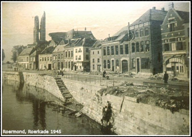 roerkade 1945 - Dodenherdenking,  Bevrijding  –  und ein  g e m e i n s a m e s  Vaterland