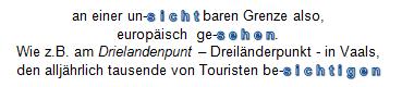 Text: Dreiländerpunkt Vaals