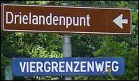 drielandenpunt vaals - Grenzen in Limburgs Süden