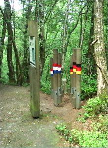 Grenzpfähle