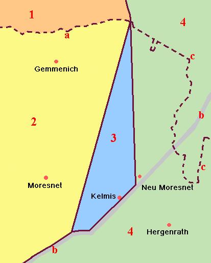grenzverlauf - Grenzen in Limburgs Süden