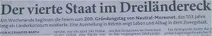 Text: Dreiländereck