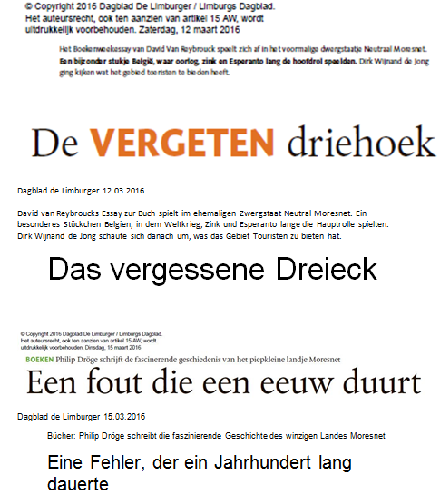 text vergeten driehoek - Grenzen in Limburgs Süden