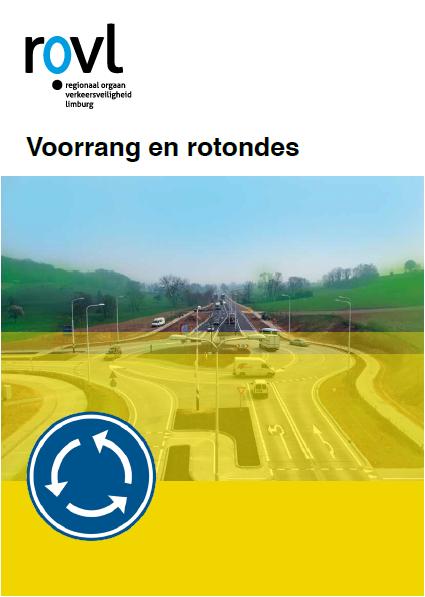 flyer voorrang en rotondes - Haifischzähne auf Limburgs Straßen