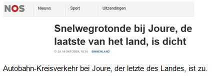 text autobahn kreisverkehr - Haifischzähne auf Limburgs Straßen