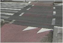 verkehrzeichen haifischzaehne - Haifischzähne auf Limburgs Straßen