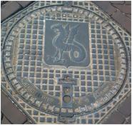 kanaldeckel beesel - Zu Besuch bei Limburgs Rotonde-Bewohnern