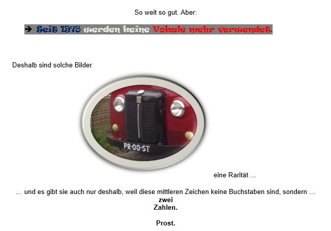 Nummerschild - Button zum PDF